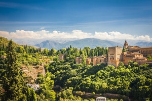 Granada, Andalusië, Spanje