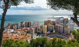 Málaga, Andalusië, Spanje