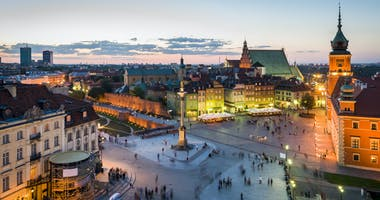 Warschau, Mazovië, Polen