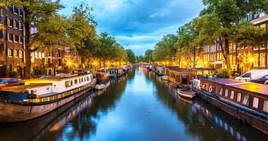 Amsterdam, Noord-Holland, Niederlande