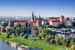 Krakow, Kleinpolen, Polen