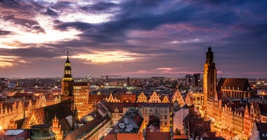 Wrocław, Nedre Schlesien, Polen